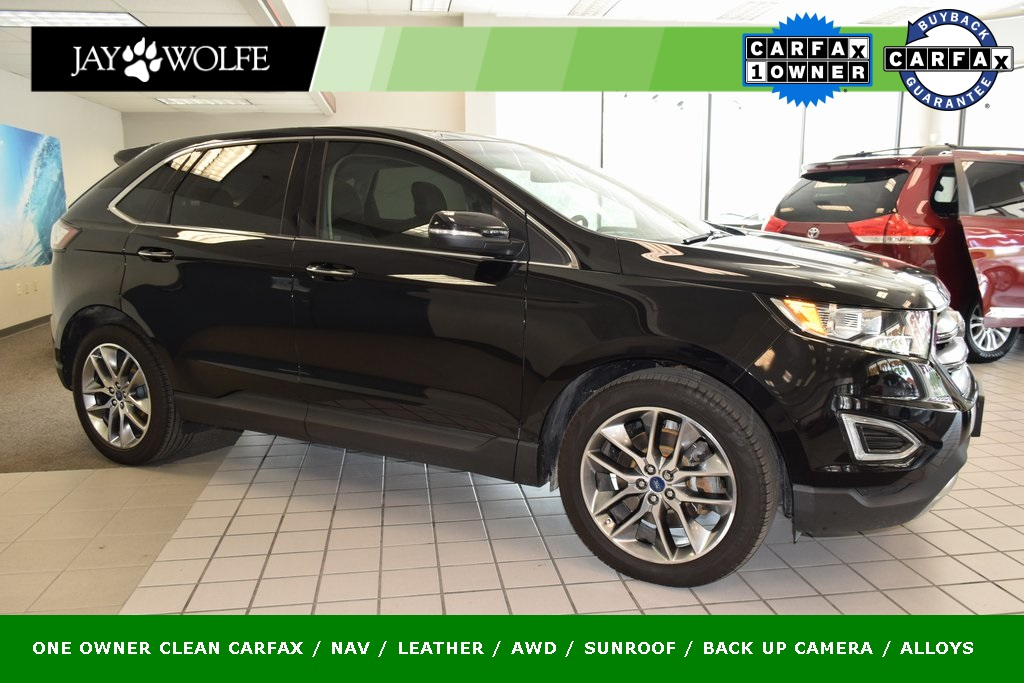 Pre Owned 2016 Ford Edge Titanium 4d Sport Utility Awd