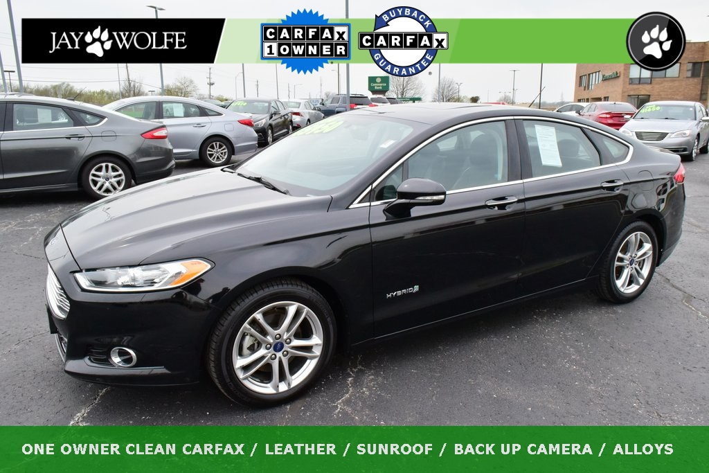 Pre Owned 2016 Ford Fusion Hybrid Anium