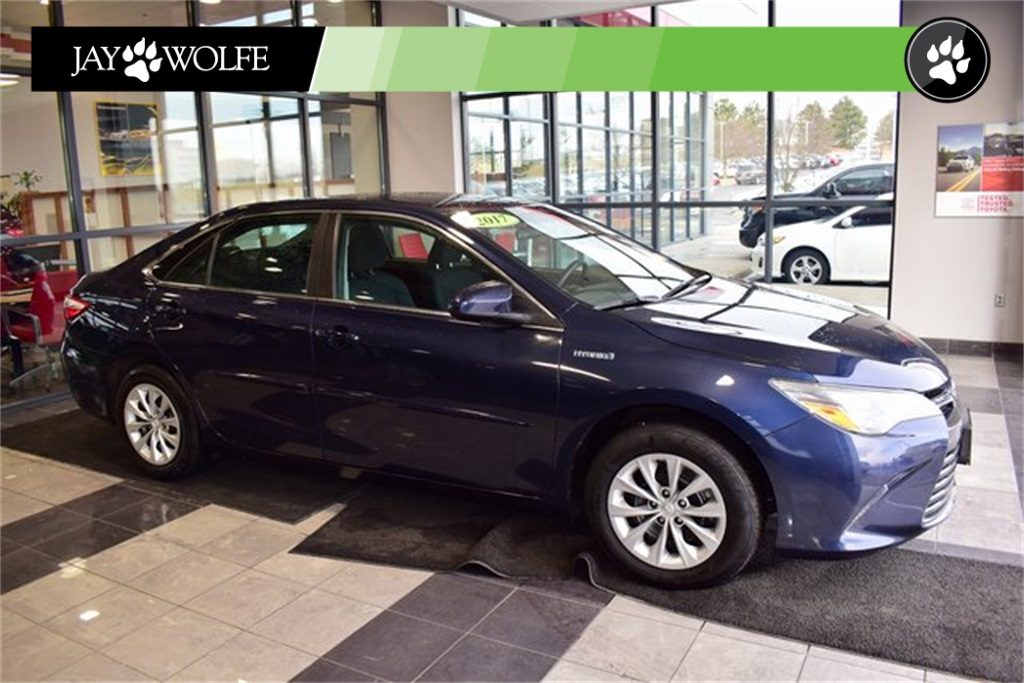 Certified Pre Owned 2017 Toyota Camry Hybrid Le