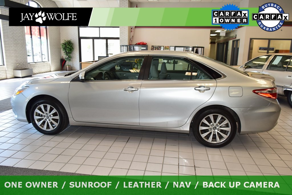 Pre-Owned 2015 Toyota Camry XLE FWD 4D Sedan